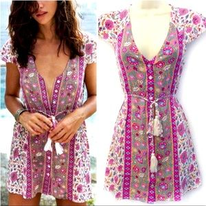 ARNHEM Kauai Collection Bohemian Mini Dress 8